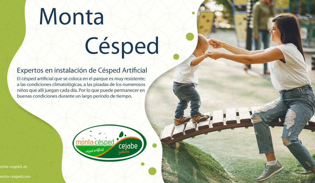 Parques Infantiles Césped Artificial