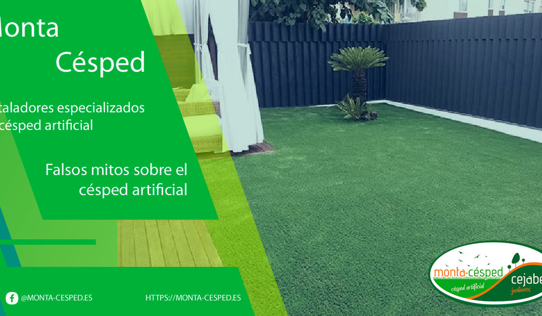 Falsos mitos sobre el césped artificial
