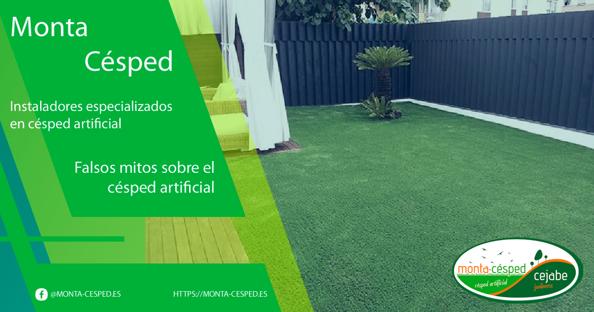 Falsos mitos del césped artificial